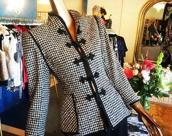Gorgeous Ungaro houndstooth jacket