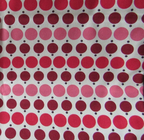 Heavy Cotton Polka Dot Fabric Red, Pink, Maroon