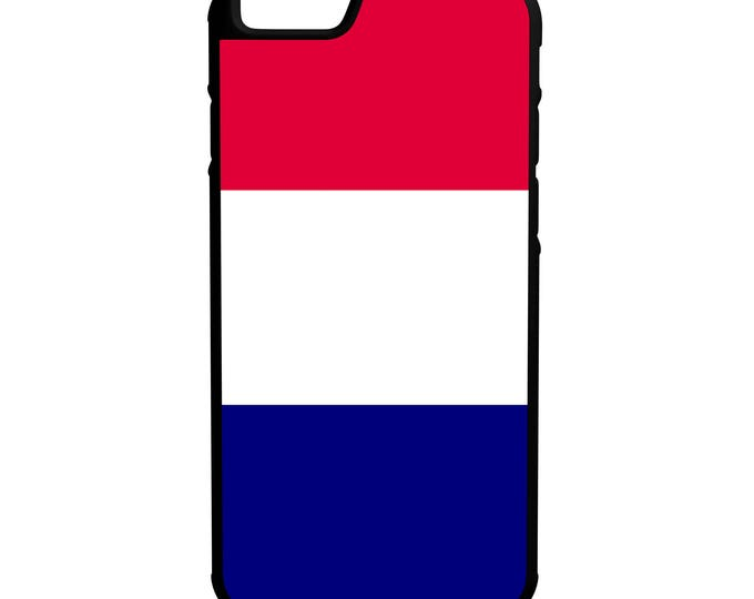 Flag of France Hybrid Rubber Protective Phone Case