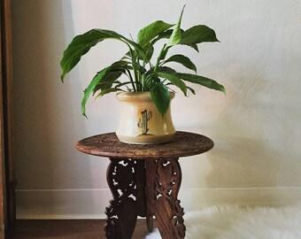 Ceramic Cactus Planter // Boho Planter