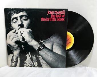 John Mayall The Last Of The British Blues vinyl record 1978 Blues Rock EX