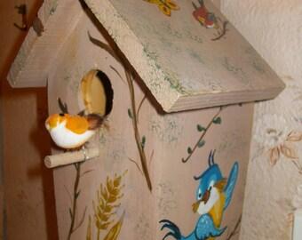 Birdhouse for decoration inside