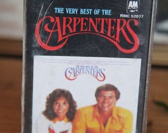 "The Carpenters  ""The Very Best Of The Carpenters"" Cassette Tape -RMC52017"