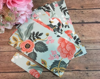 Birch Floral {Rifle Paper Co.} Dividers & Page Markers OR Dashboard