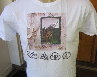 Size M (42) ** Led Zeppelin Shirt (Double Sided)