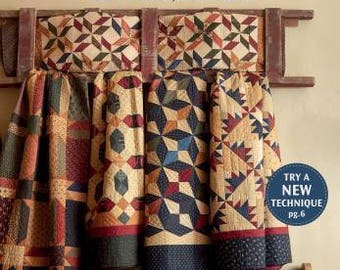 Cozy Quilts and Comforts by Lynne Hagmeier of Kansas Troubles Quilters - Book