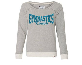 GYMNASTICS COACH SCRIPT Premium French Terry