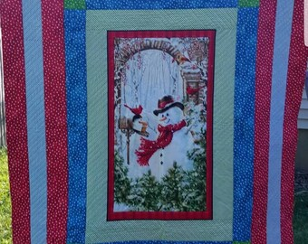 Winter Flurries Christmas Quilt
