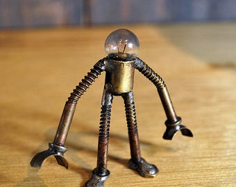 Small Bulb Head Brass Bot