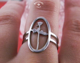Depeche Mode Violator ring (free shipping) - stainless steel
