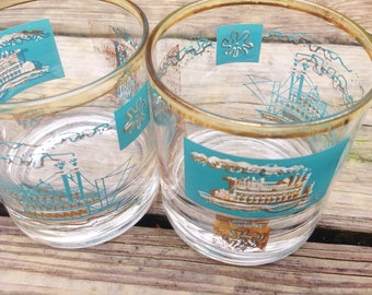 Set of 3 Steamboat Tumblers