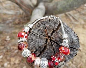 lOVE Charm Bracelet Valentines Day gift