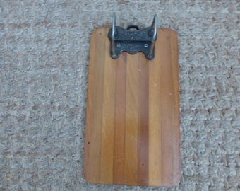 Vintage 1900's Yawman and Erbe Mag. Co. Columbia file Clipboard!