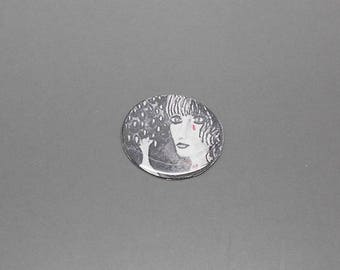 1 face cabochon resin craft grooving to support 25 mm