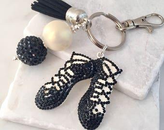 Irish Dancing Shoes Key Chain, Ghillie Shoes Key Chain, Irish Dancer Key Chain, Irish Dancer Gift, Irish Step Dance, Irish Dancer