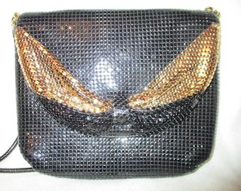 La Regale metal mesh evening bag