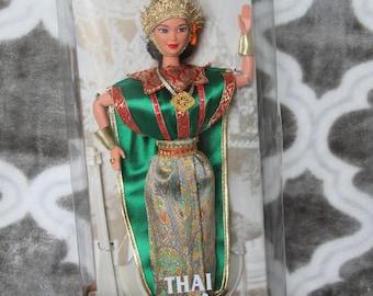 1997 Barbie Dolls of the World Thai Thailand # 18561