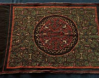 Large Shipibo Altar cloth