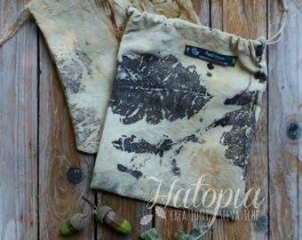 Hand-sewn cloth bags (printing plant)