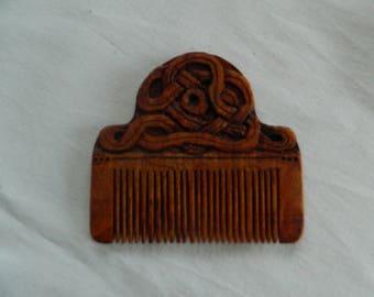 Comb entrelac in beech, Birch
