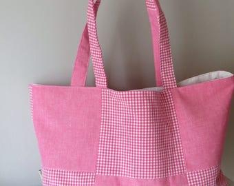 Shopping bag, tote bag, grocery bag, farmers market bag, reuseable bag, gift for mum, school, beach bag, bag for holiday