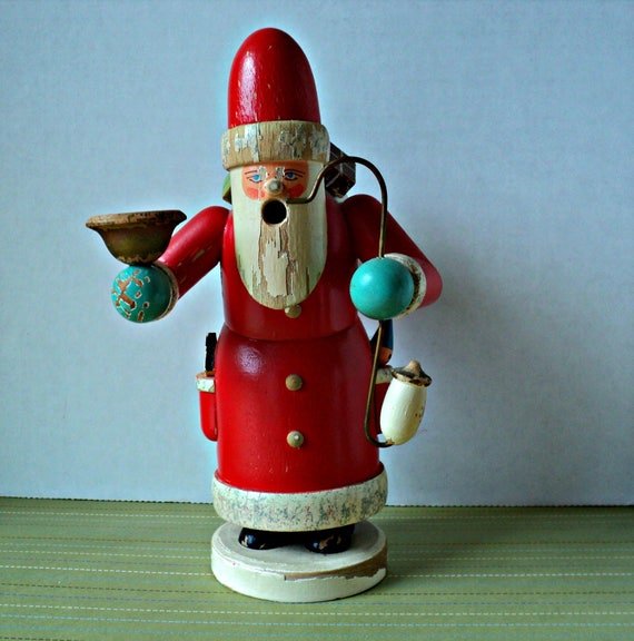 Vintage Santa Smoker Incense Burner