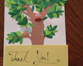 Thank You Tree Card