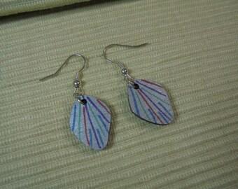 Earrings earrings abstract