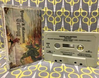 Trilogy by Yngwie J Malmsteen Cassette Tape rock