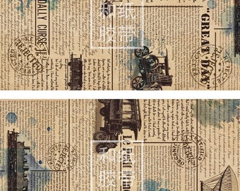 Industrial Age Washi  tape