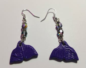 "Earrings ""Mermaid"""