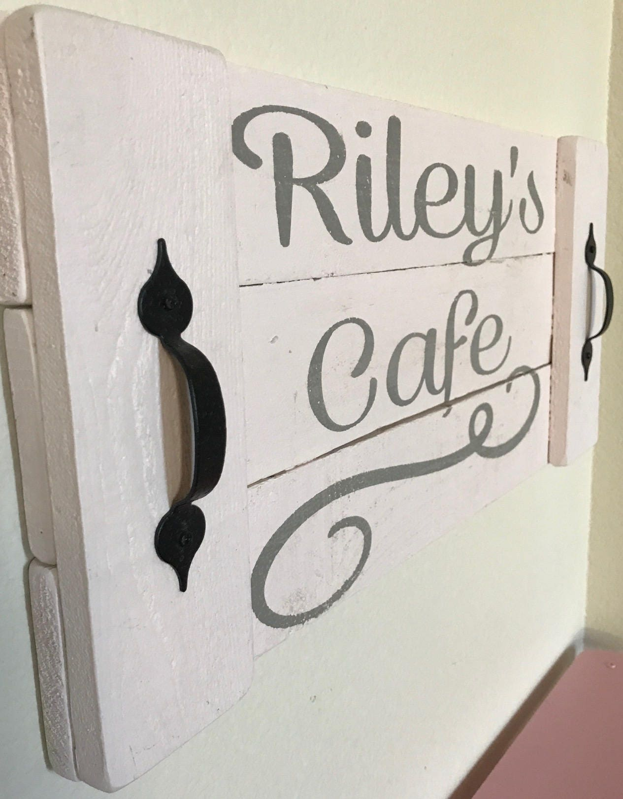 Personalized kids cafe sign, custom kid sign, custom child sign ...