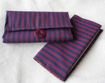wallet - wallet - card wallet and checkbook cover