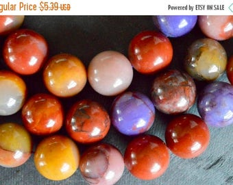 25% off SALE 20mm Gorgeous Agate Stone Beads Gemstone Agate (3 Beads) Large Stone Beads Large Agate Beads 20mm Agate Smoot Shiny Round Stone