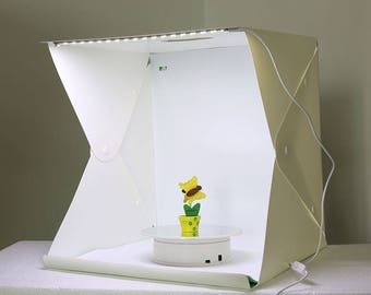 Photo Studio Lighting Tent Booth Portable Kit For Product Photography Foldable Softbox Compact