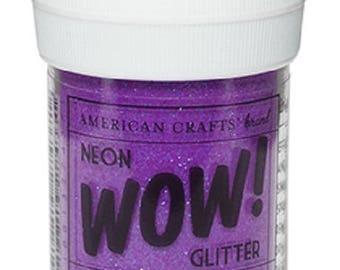Glitter glitter WOW NEON - GRAPE color