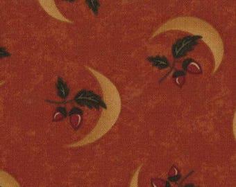 Kansas Troubles Harvest Moon - Pumpkin Acorn Sprigs & Moon (9370)