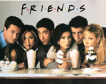 Friends TV Show Milkshake Poster 24 x 36