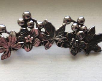 Mast Flower Vintage Brooch