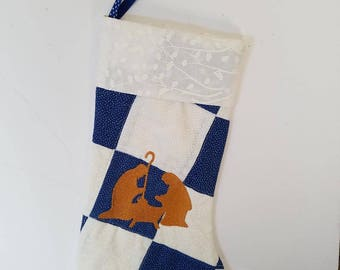 Nativity Christmas Stocking