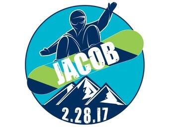 Snowboard Bar Mitzvah Logo