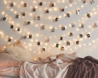 String Lights Etsy - Cheap string lights for bedroom