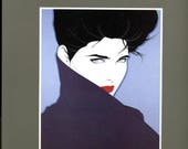 Nagel   -  The Art of Patrick Nagel   1989   Extraordinary Illustration Artwork  Beautiful Women !!!    Wonderful .  Mature