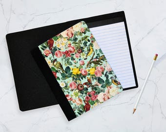 Floral and birds 3 Notebook