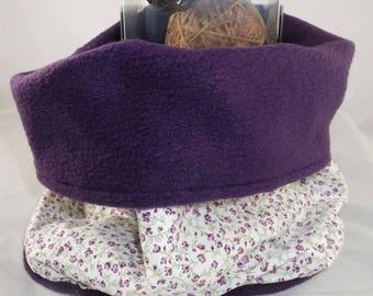 Snood001 - Snood liberty purple and inside purple
