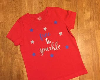 Free to Sparkle Shirt