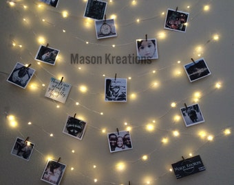 Hanging Light Photo Display, fairy lights battery, decor, string, plug, fairy lights dorm, fairy lights fee shipping, fairy lights bedroom