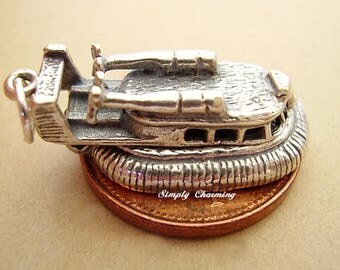 Sterling Silver Hovercraft Opening Charm