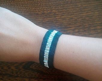 miyuki peyote stitch Cuff Bracelet