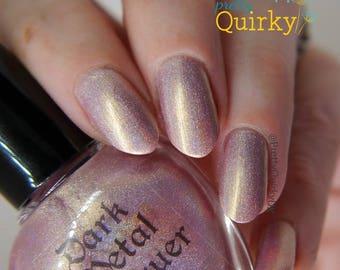 Serenity - Rose Gold Holographic Nail Polish (11ml)